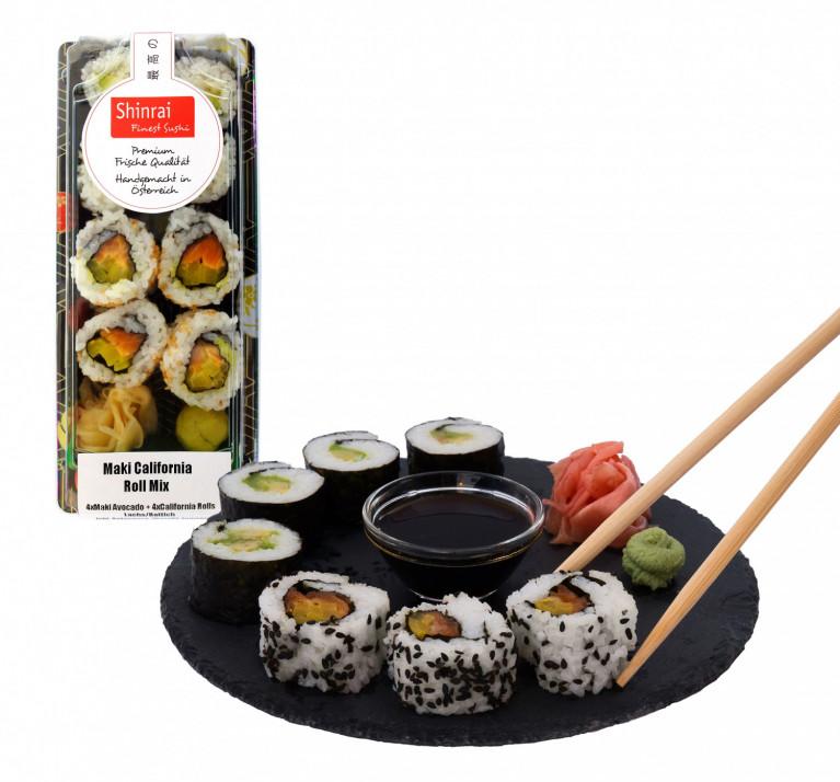 Sushi 2 + Verpackung 2