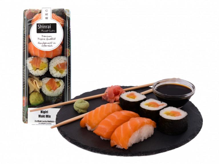 Sushi 1 + Verpackung 1-3