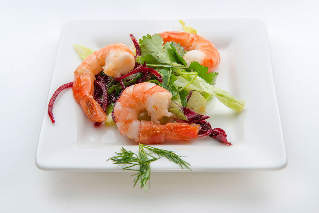Thai-Bio-Garnelen-Salat-mit-Kafir-Limette-neu