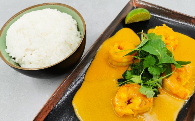 Serviervorschlag Rotes Curry
